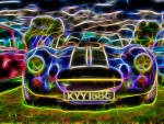 Fractal Image of a Car