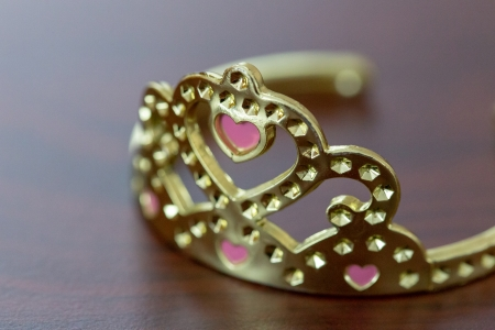 Princess - table, pink, princess, heart