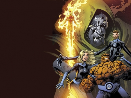 Fantastic Four - Comics, Superheroes, Fantastic Four, Marvel