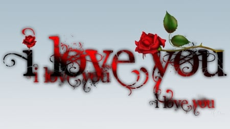 i ♥ U - gothic, love, Firefox theme, red rose, goth, Valentines Day, romantaic