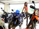 Yarian A and her Motorcycle Collection
