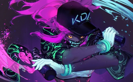 kda akali - lol, kda, akali, league of legends