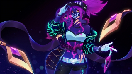 Kda Akali And Evelynn Other Video Games Background