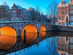 Amsterdam Bridge, Netherlands