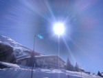 Sunny time for sport in mountain alps...ciao...