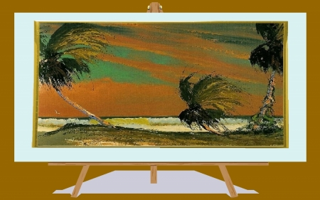 Florida Landscape 11 - art, florida, wow, highwaymen