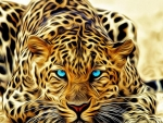 Photo Shopped Leopard
