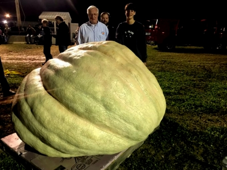 2018 Largest Pumpkin