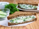 Grilled Spinach And Cottage Cheese