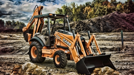 2019 case 580n backhoe loader - Photography & Abstract
