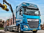 2019 daf xf 530 timber carrier