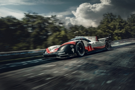 Porsche 919 - racing, Car, le mans, fast