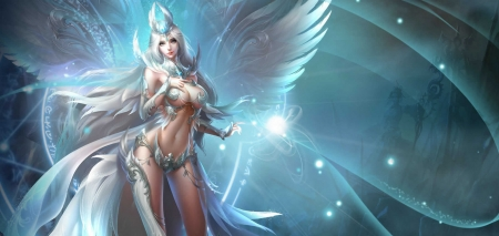 League Of Angels Fantasy Abstract Background Wallpapers