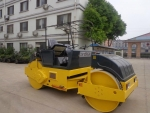 Parked compactor