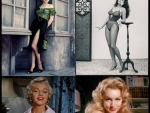 Legendary Hollywood Icons Marilyn Monroe and Julie Newmar