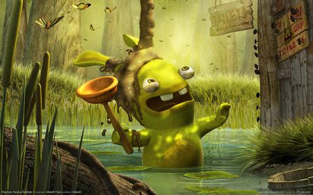 Lapin Cretin Other Video Games Background Wallpapers On