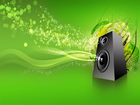 music jpg - lime green, music, speaker
