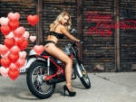 Happy Valentine's Day to Girls with Bikes