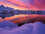 Arctic Norway Sunset
