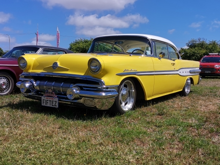 Chevrolet Coupe - yellow, custom, coupe, Cheverolet