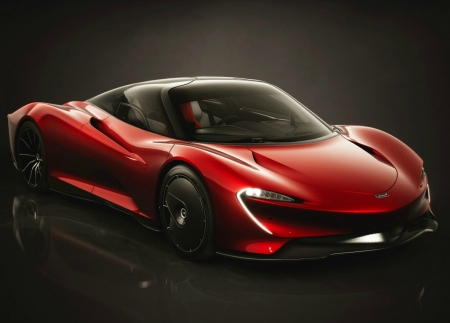 RED MACLAREN - MCLAREN, CAR, IMAGE, RED