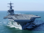 Aircraft Carrier USS George H W Bush CVN-77