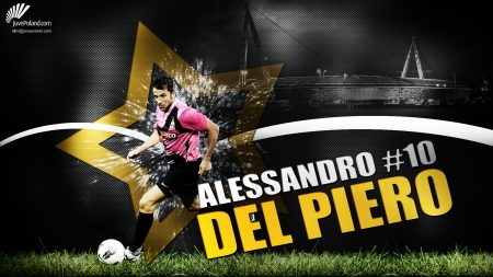 Alessandro Del Piero Soccer Sports Background Wallpapers