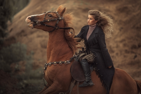 Riding Style . . - boots, cowgirl, ranch, horses, outdoors, brunettes, western, style, actors