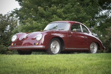1956 Porsche 356A 1600 Coupe - Old-Timer, Coupe, Red, Cars, 356A, 1600, Sports, Porsche