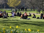 The warmest February on record in the United Kingdom