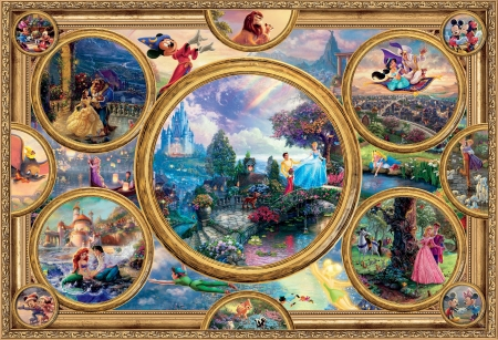 Disney Collage Fantasy Abstract Background Wallpapers On Desktop Nexus Image 2466510
