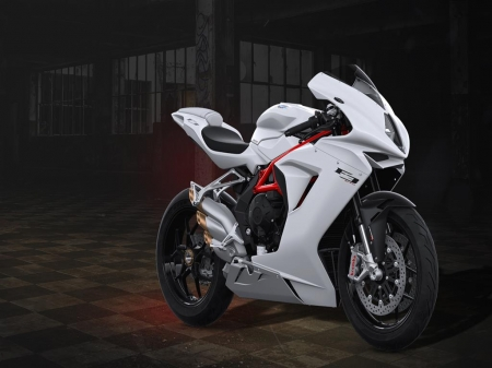 2019 MV Agusta F3 675 white 4k Bike - Motorbike, Bike, latest, white