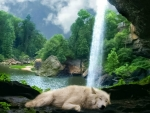 Deep sleep with the sound of water