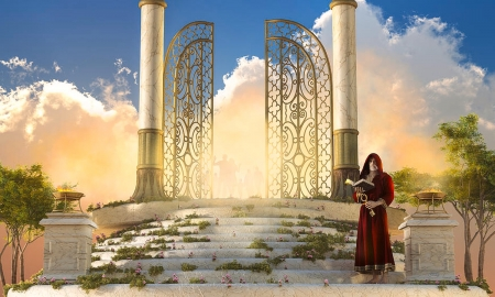 Heavens Gate Dreamy And Fantasy Wallpapers And Images