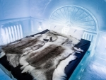 Ice Hotel Room in Sweden