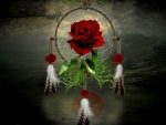 Rose Dream Catcher