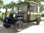 1929 ford model a us mail truck