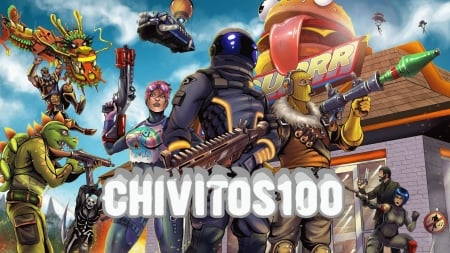 Chivitos100 wallpaper - Fortnite, hd, lol, Chivitos100