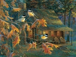 Cabin of Chickadees