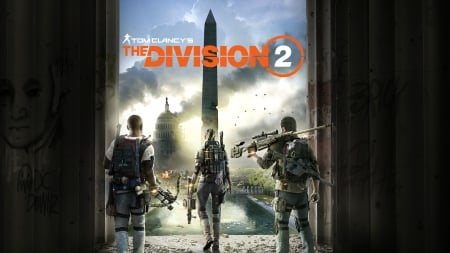 The Division 2 - GAME, 1920x1080, Ubisoft, video game, PlayStation 4, PS4, Xbox One, The Division 2, PC