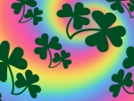 Shamrocks O'er the Rainbow... : )
