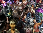 Multiple Video Game Characters in one wallpaper