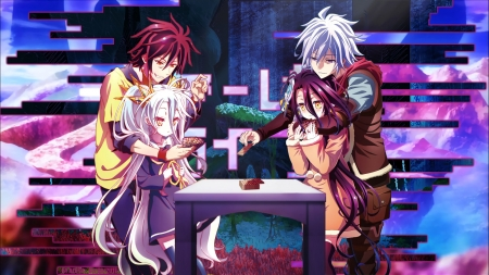 No Game No Life Vs Zero Other Anime Background