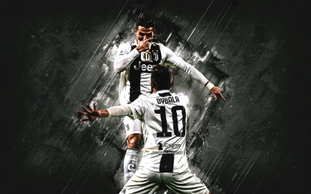 Ronaldo Dybala Soccer Sports Background Wallpapers On