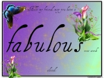 FABULOUS NEW WEEK