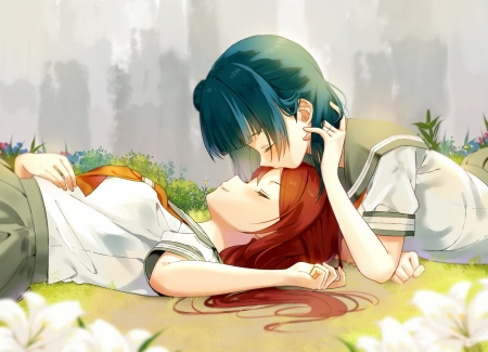 Sleeping Kiss - Other & Anime Background Wallpapers on ...