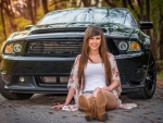 Takes Boots To Ride A Mustang . .