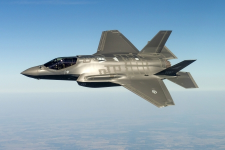 F35 Lightning II - military, aircraft, fighter, jet