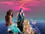 The mermaids and the flute