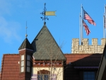 Weather Vane & Flags
